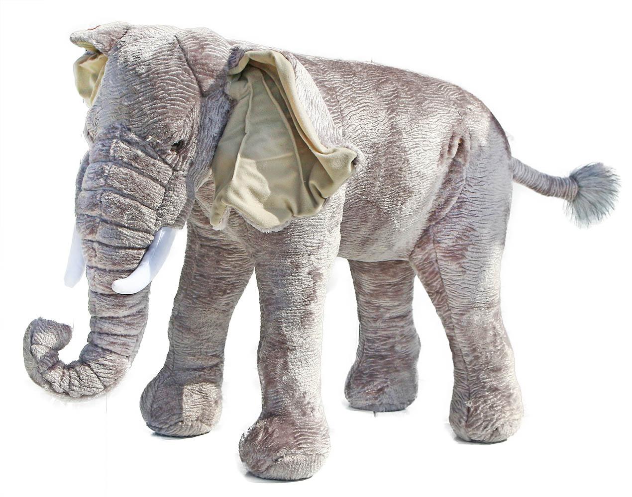 veľký plyšový slon 75 cm - možno sedieť