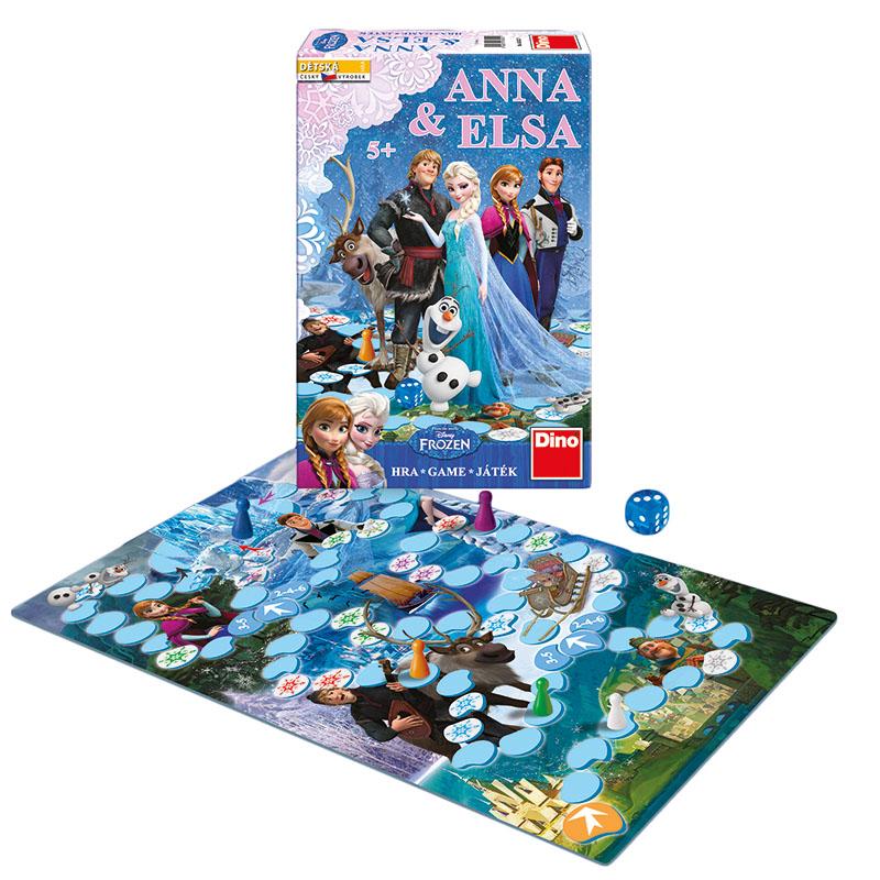 hra Anna & Elsa FROZEN - Ľadové kráľovstvo
