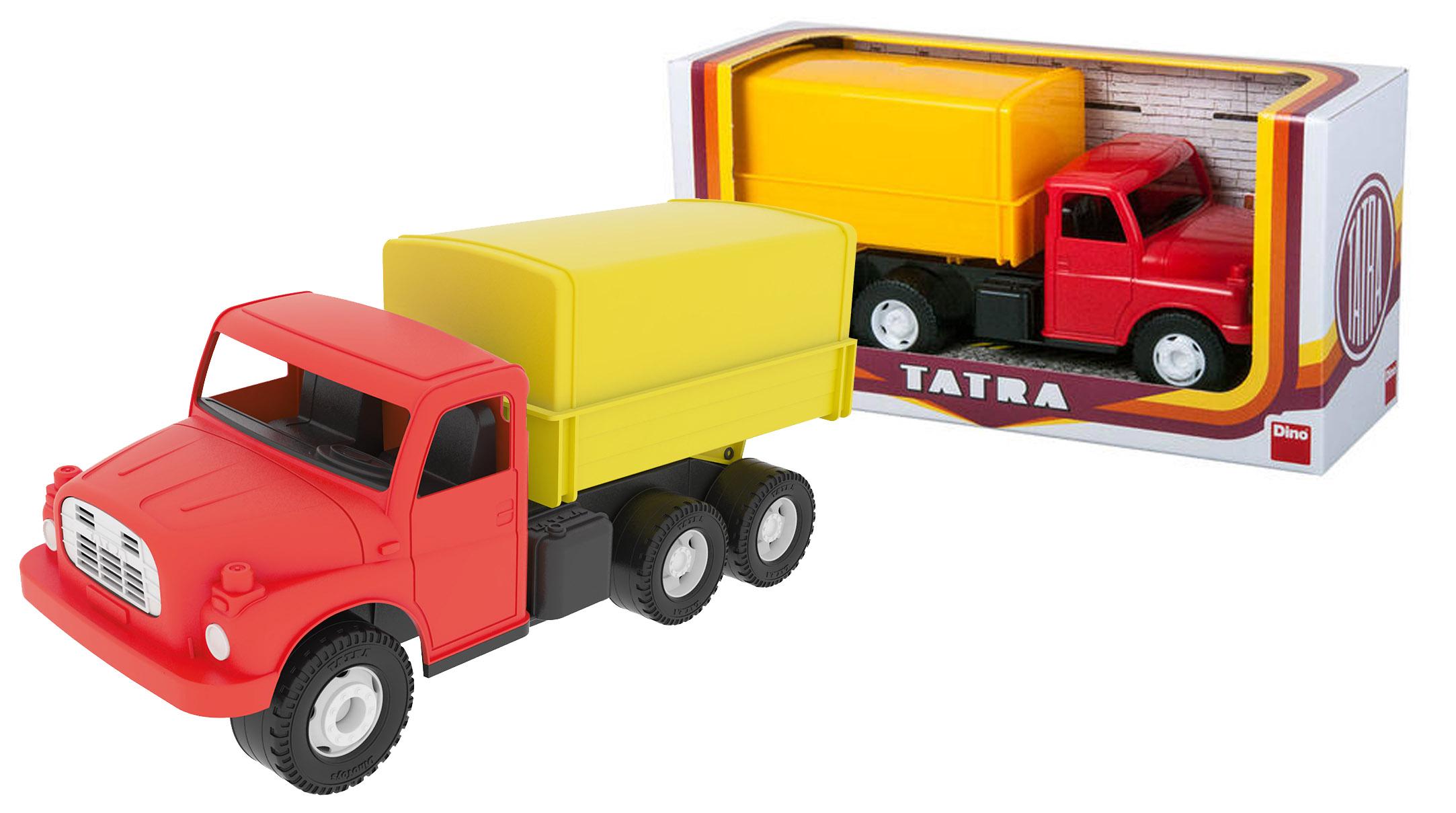 auto Tatra 148 valník s plachtou, plastové 30cm