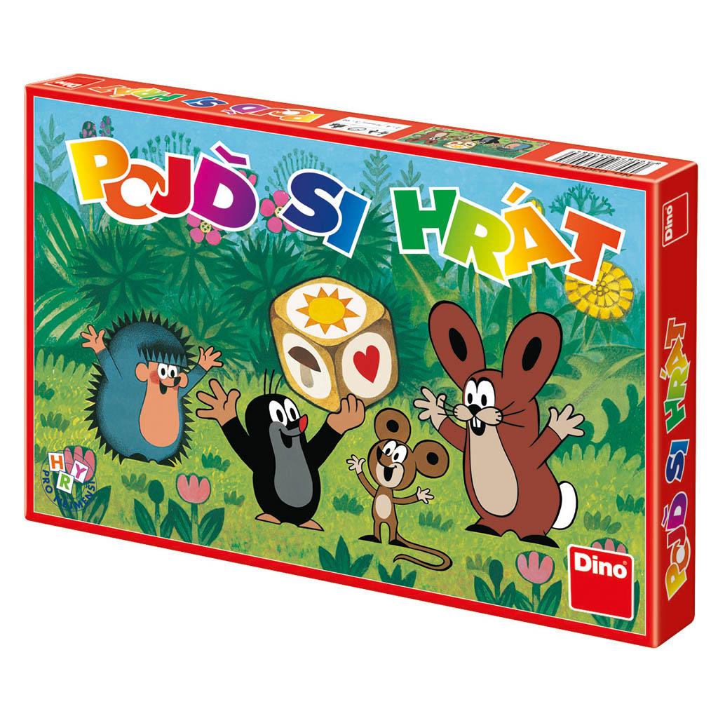 hra Poď si hrať - Krtko