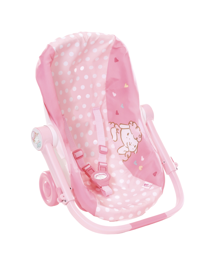 Přenosná sedačka na kolečkách Baby Annabell
