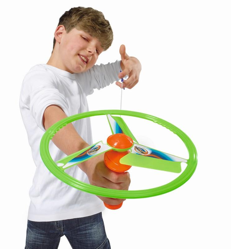 Létající disk na natažení