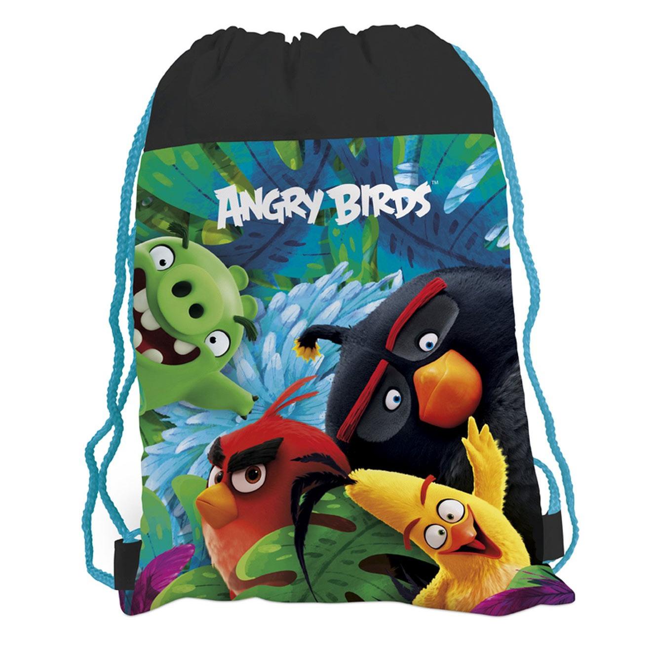 vrecúško školské Angry Birds 38x30cm