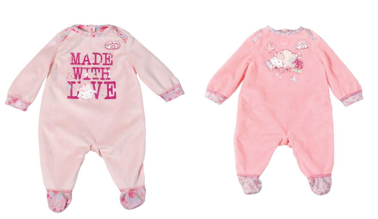 Oblečenie Baby Annabell Dupačky, 2 druhy