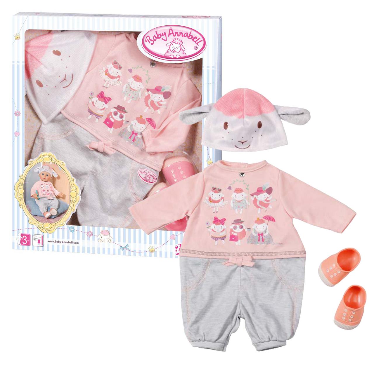 Oblečenie Baby Annabell súprava na voľný čas