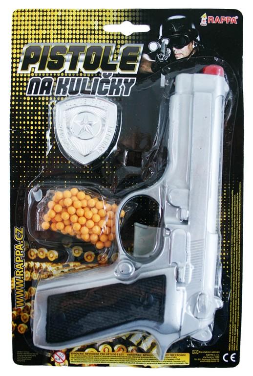 pištoľ na guličky s príslušenstvom