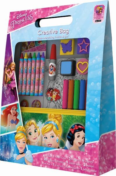 sada kreatívna na kreslenie Disney Princezné