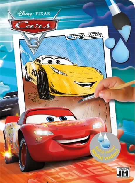 omaľovánka Maluj vodou Cars 3