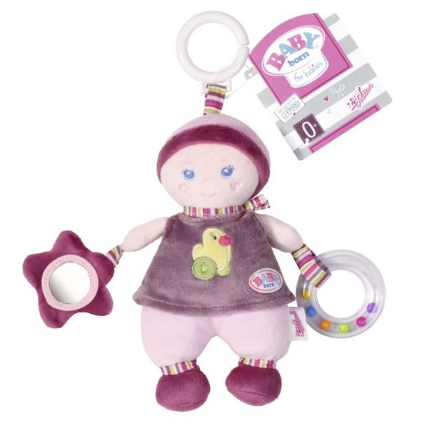 Závesná bábika s aktivitami pre bábätká BABY BORN