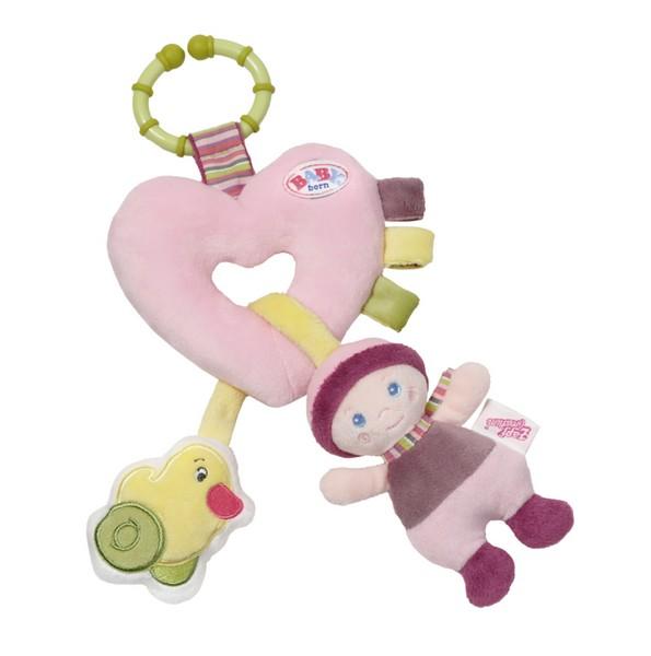 BABY BORN srdicko s aktivitami pre bábätká