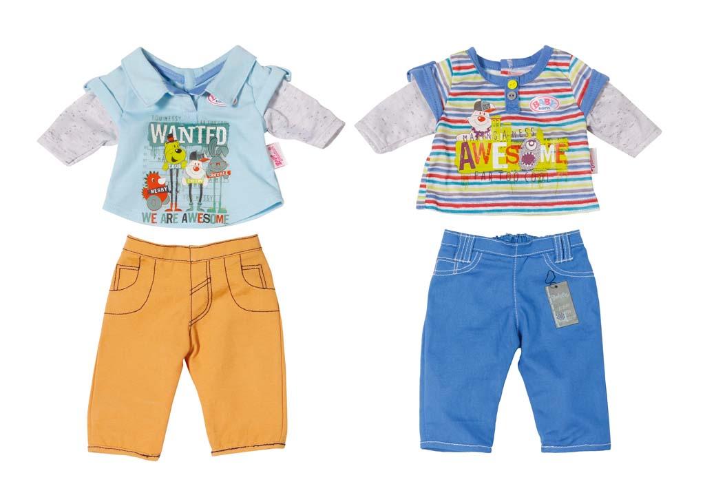 BABY born oblečenie pre chlapca, 2 druhy
