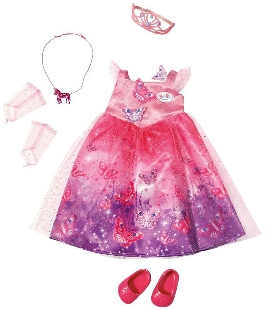 oblečenie BABY born šaty pre princeznú