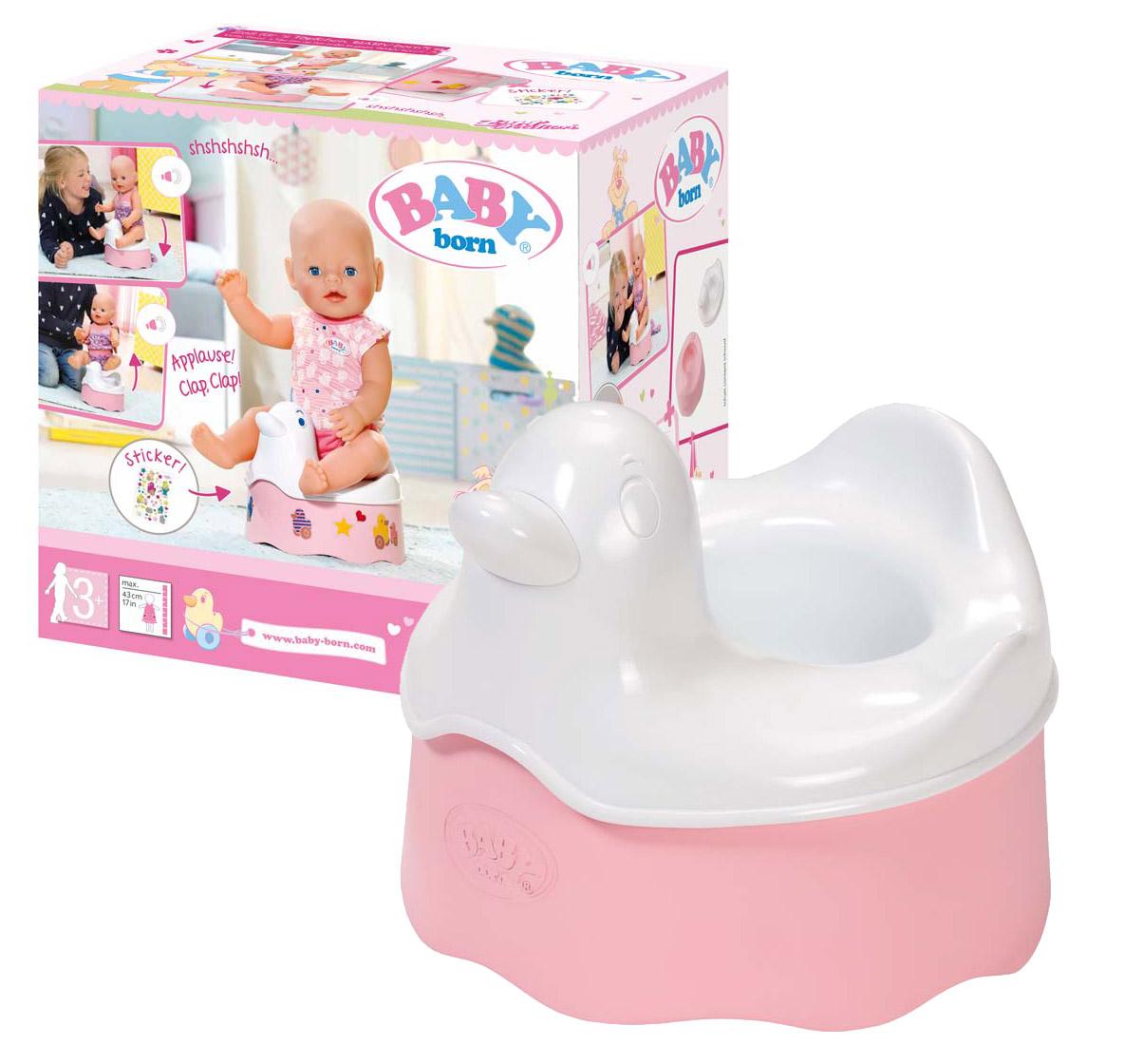 BABY born nočník pre bábiku so zvuky