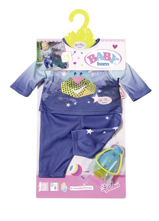 Pyžamo s baterkou BABY born, 2 druhy