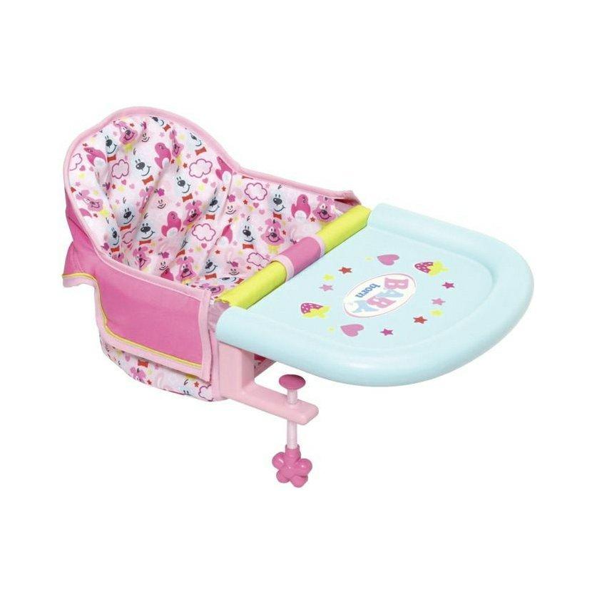 Jídelní židlička s uchycením na stůl BABY born