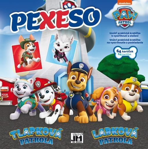 Pexeso v sešitu Paw Patrol