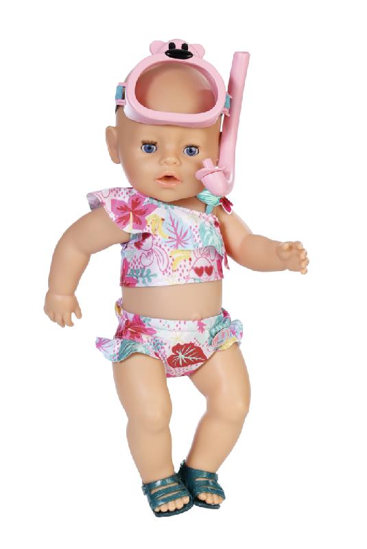 BABY born Souprava plavky a šnorchl 43 cm