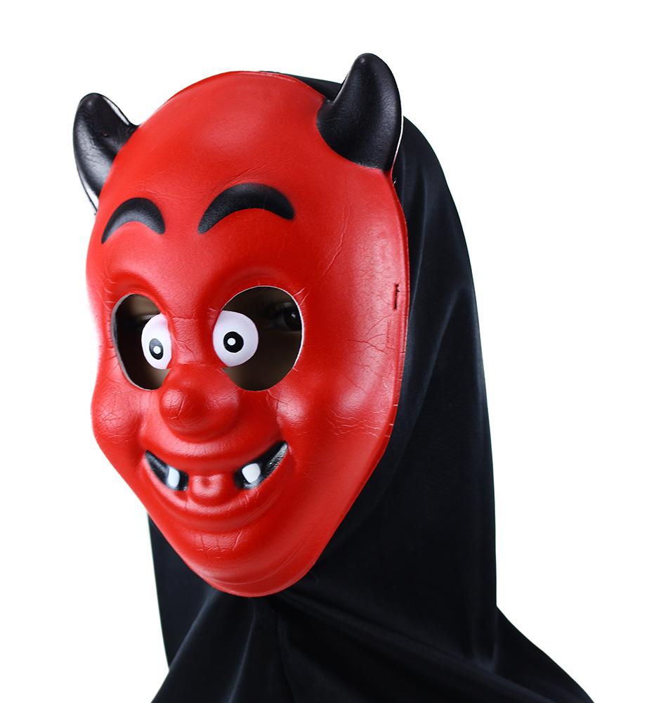 maska čert s šatkou
