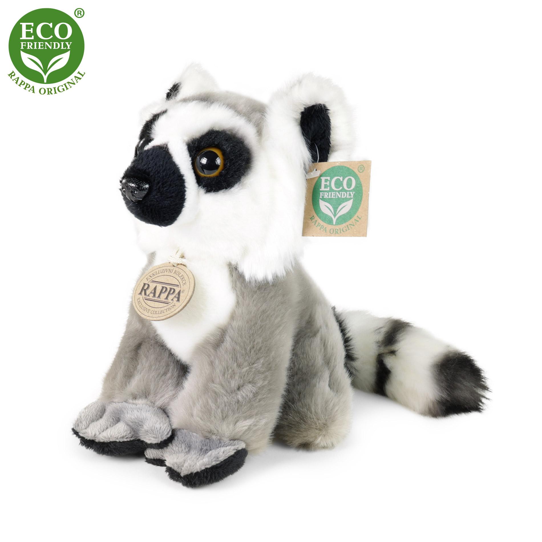 plyšový lemur sediaci, 18 cm