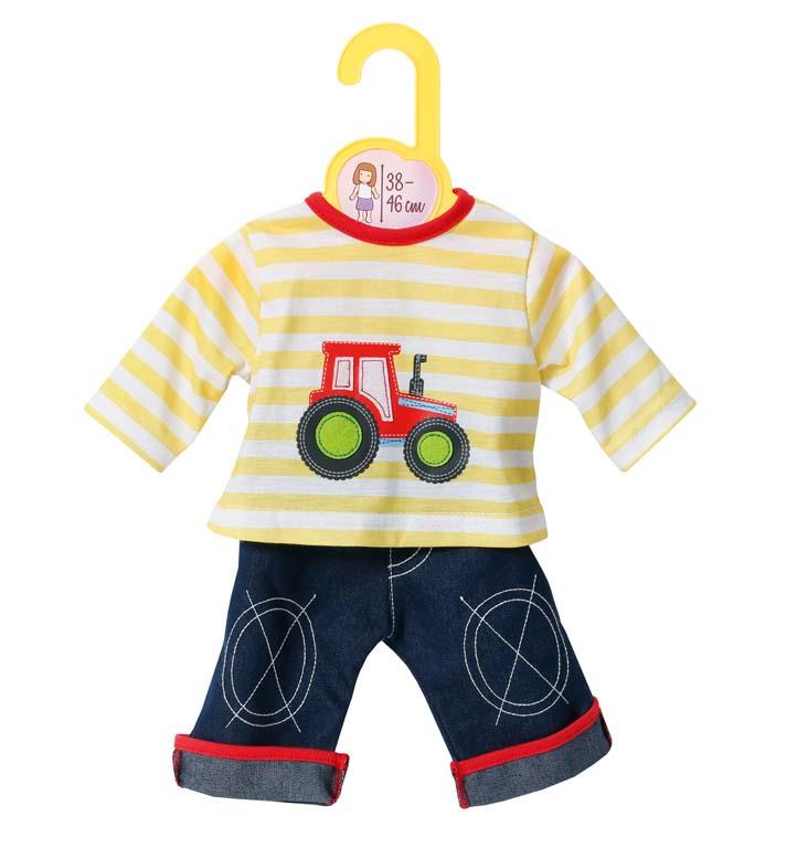 Dolly Moda tričko a nohavice, 38-46 cm