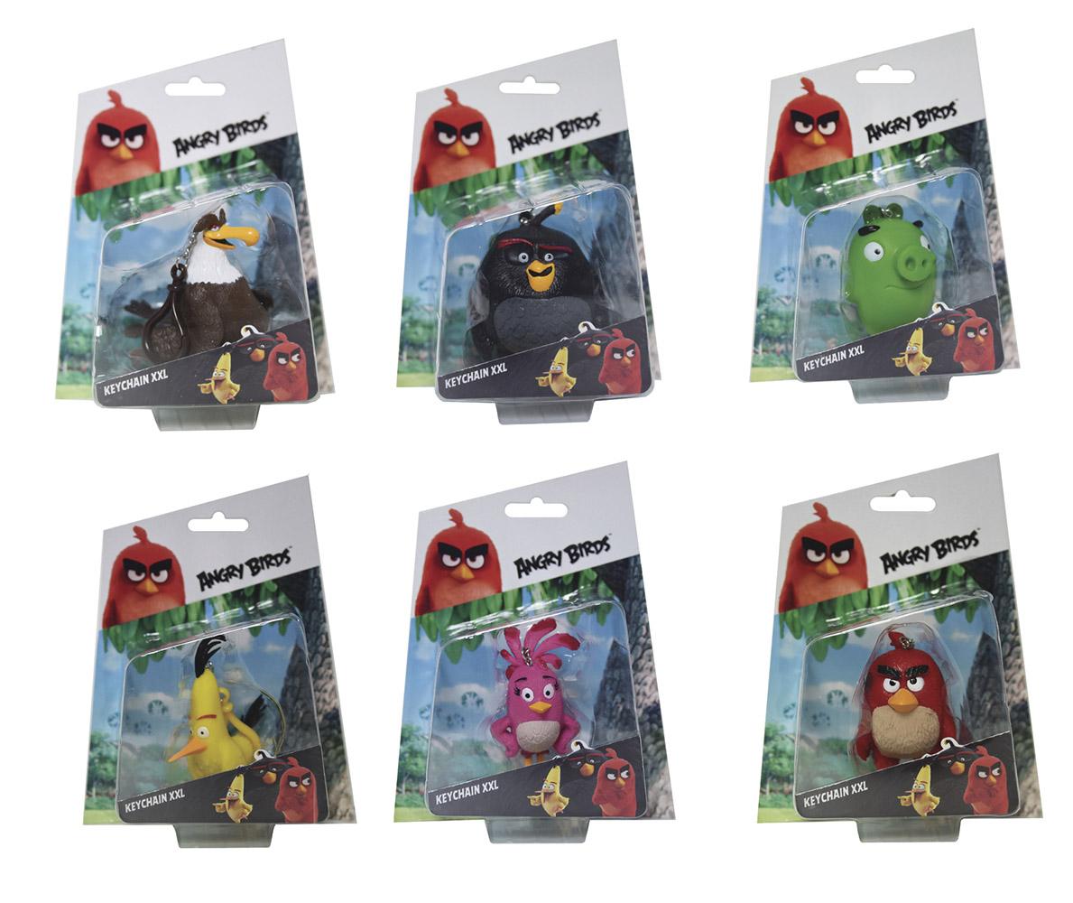 Angry Birds 3D figúrka s príveskom, 7 - 8,5 cm