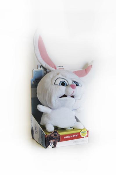 Plyšová hračka / maňuška Tajný život maznáčikov Snowball