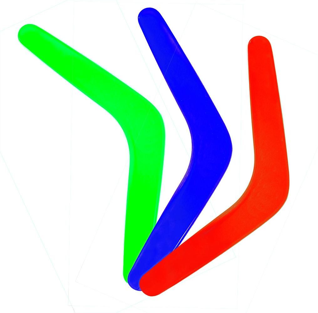 Bumerang, 3 druhy