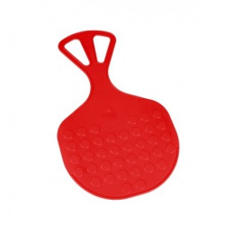 kluzák Mrazík plastový červený