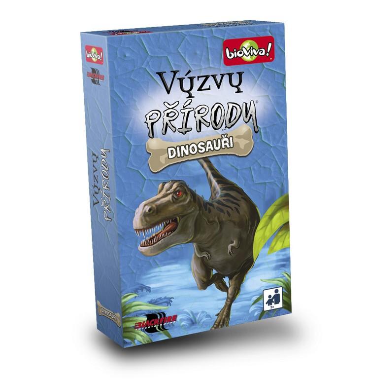 hra Výzvy prírody - Dinosaury