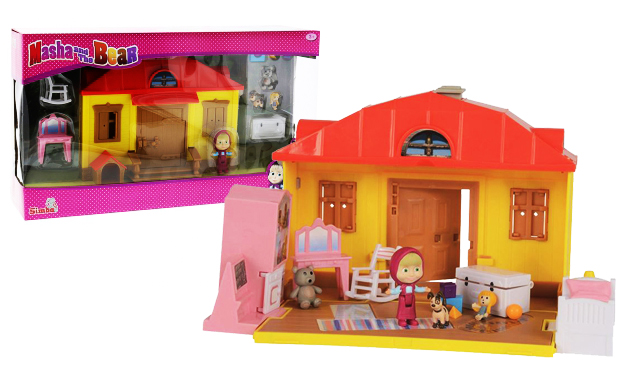 dom s nábytkom Máša a medveď