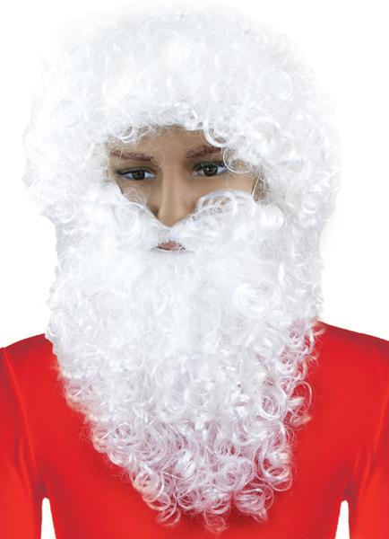 parochňa s fúzy Santa