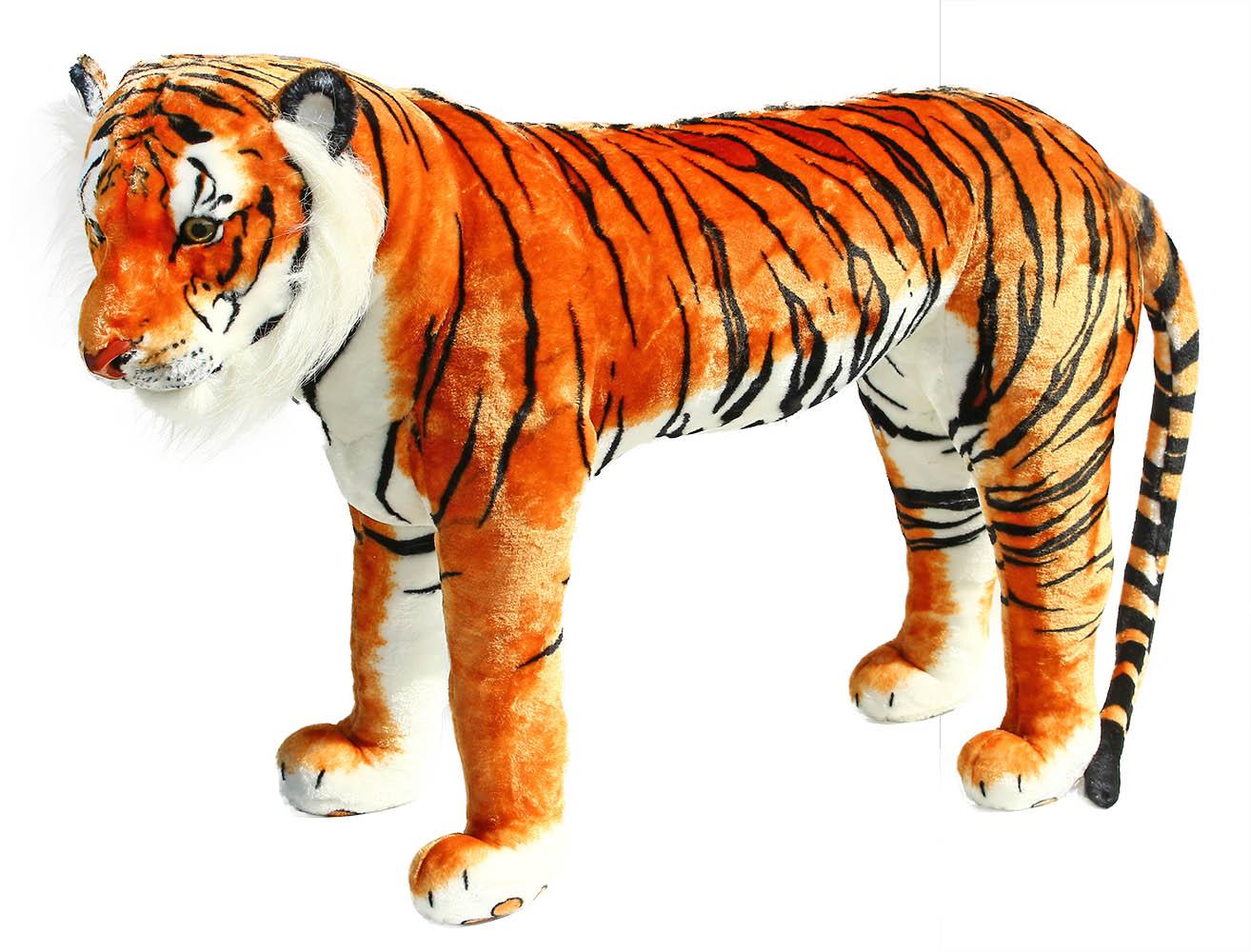 veľký plyšový tiger stojaci 106 cm - možno sedieť
