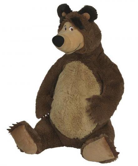 Plyšový medveď 50 cm sediaci - Máša a medveď
