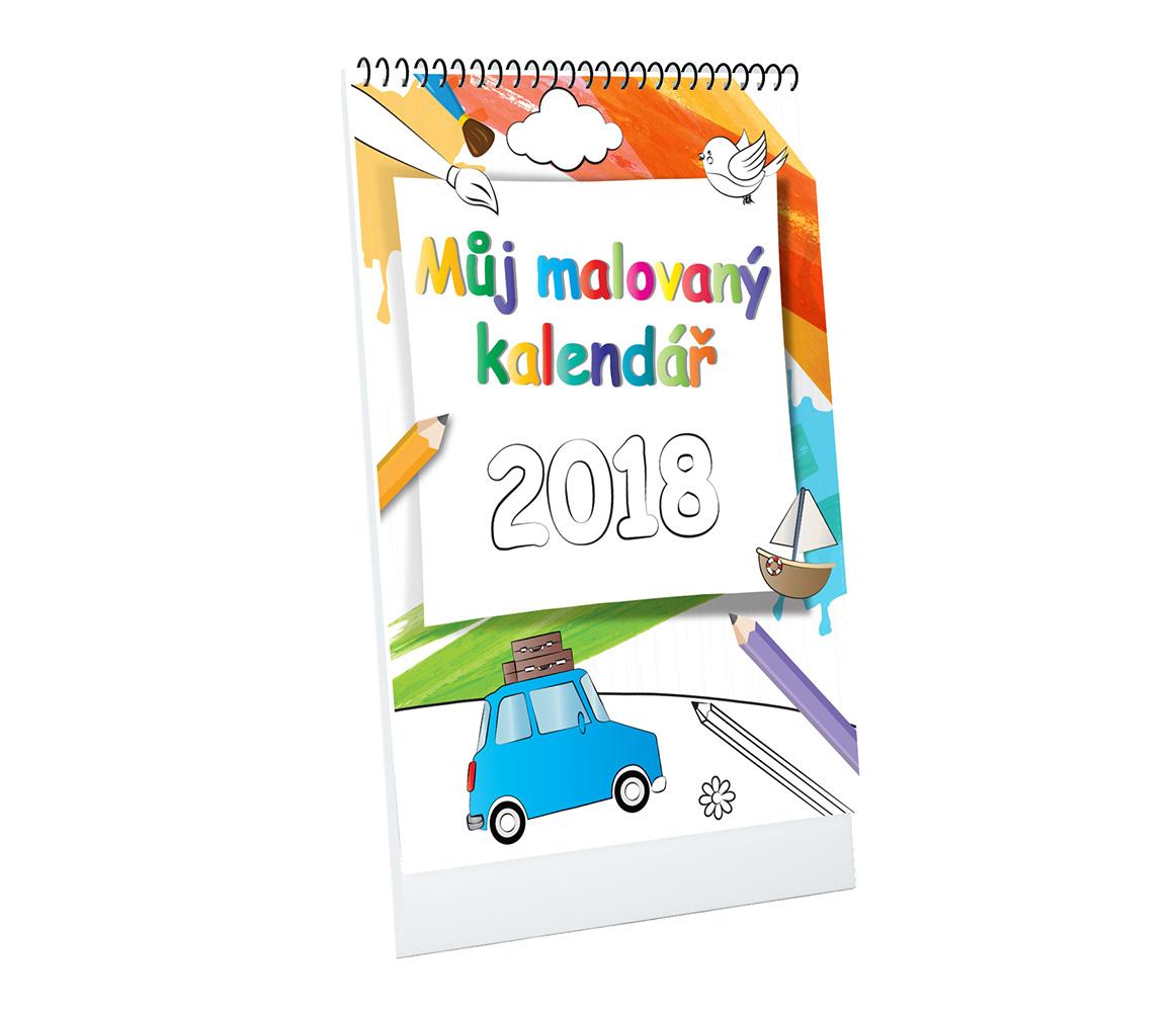 Môj maľovaný kalendár A4