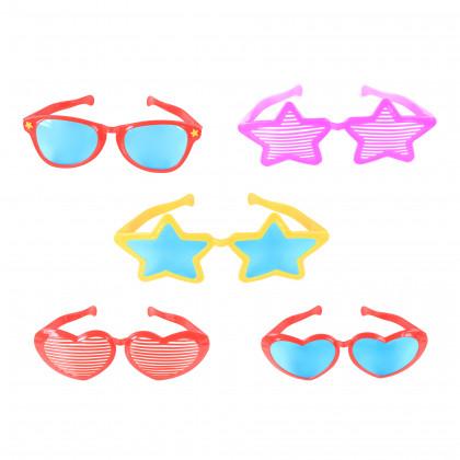 brýle MAXI karnevalové, 8 druhů