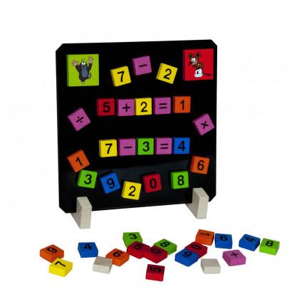 hra počítáme s Krtkem