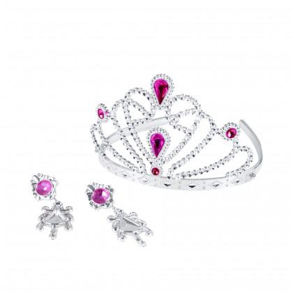 Korunka princezna s náušnicemi