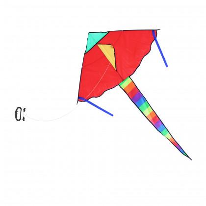 drak létající nylonový 120 x 70 cm