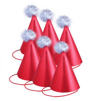Vánoční brokátový klobouček