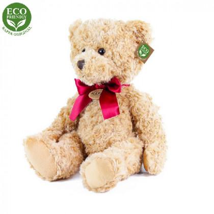 plyšový medvěd retro sedící, 28 cm