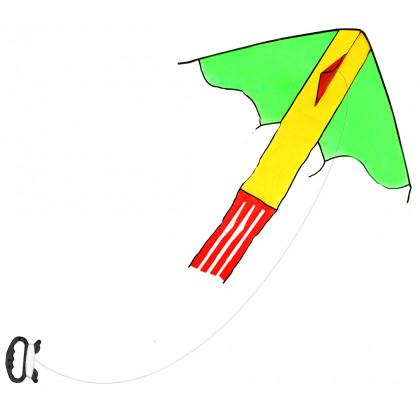 drak létající nylonový, 118 x 98 cm