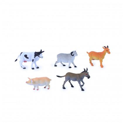 zvířata domácí II., 5 ks v sáčku