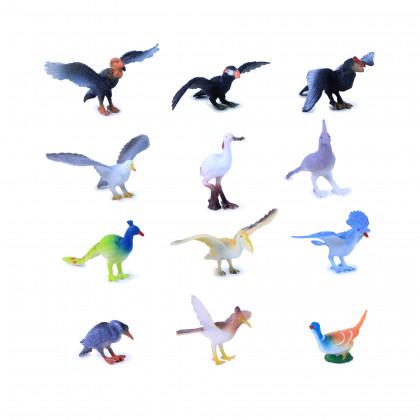 ptáci, 12 ks v sáčku