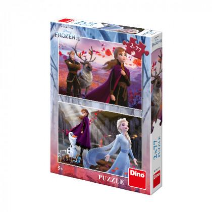 puzzle 2x77 dílků FROZEN 2 - Ledové království