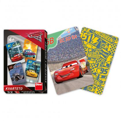 Karty kvarteto Cars 3