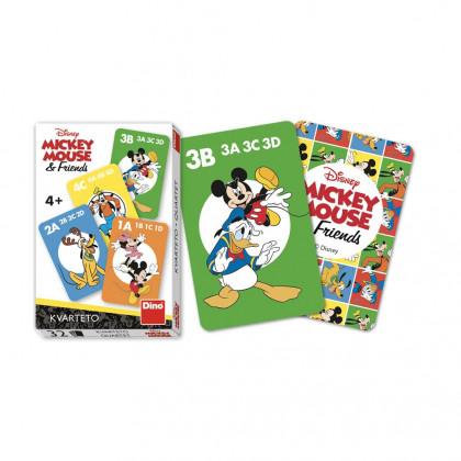 Karty Kvarteto Mickey a kamarádi