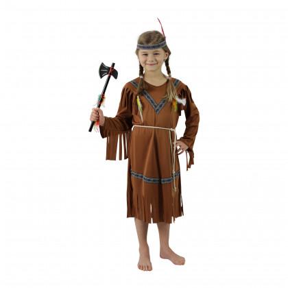 karnevalový kostým indiánka vel. M