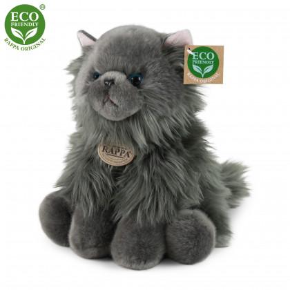 plyšová kočka britská sedící 30 cm