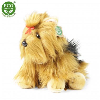 plyšový pes jorkšír 27 cm