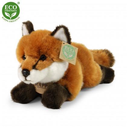 Plyšová liška ležící, 23 cm, ECO-FRIENDLY